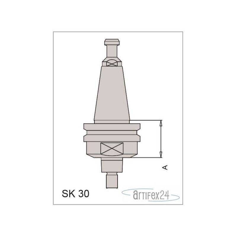 AKE SK Plus Aufnahme SK30 A=33,3 mm LI