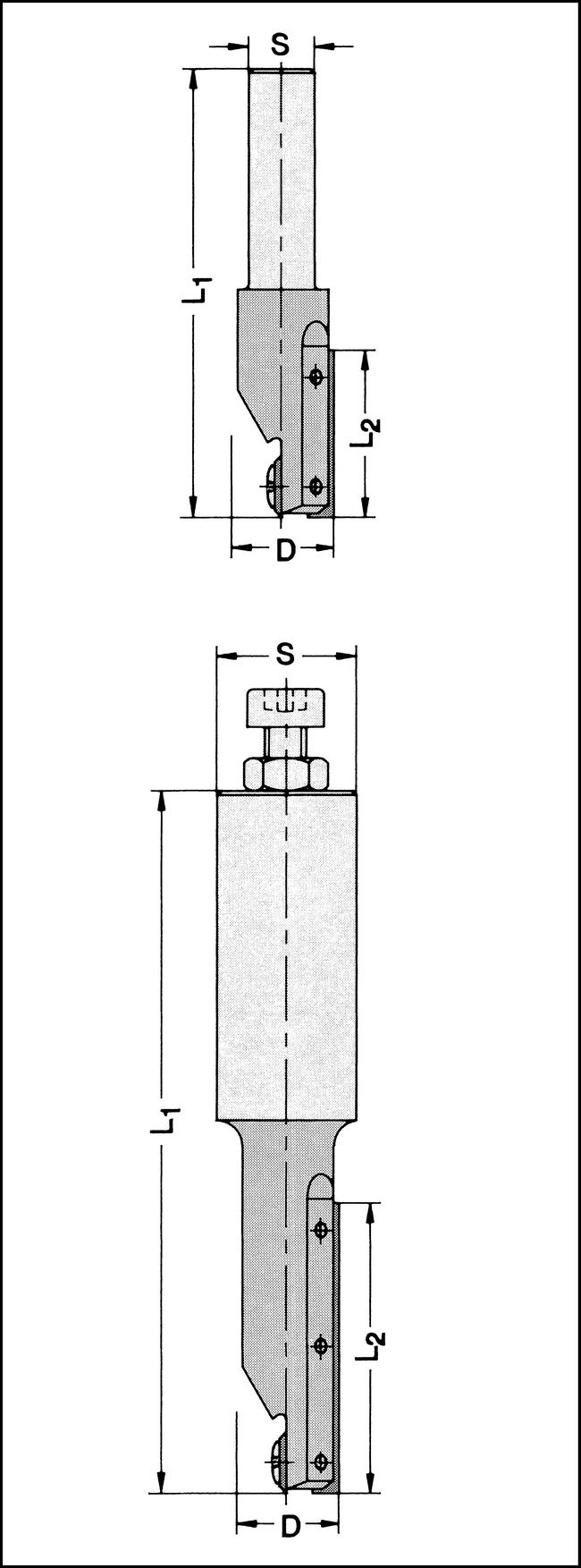 Oberfräser Z1+1 HW-WP 16x30mm