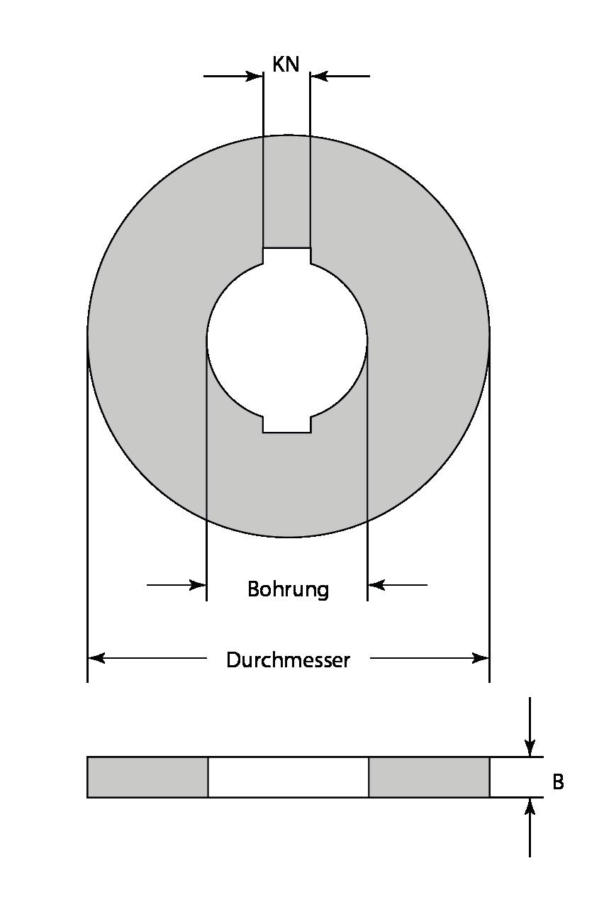 Zwischenring 50x5,0x20mm